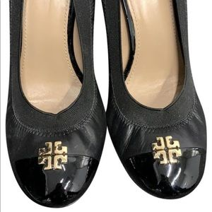 Tory Burch Chuncky Heel Pumps